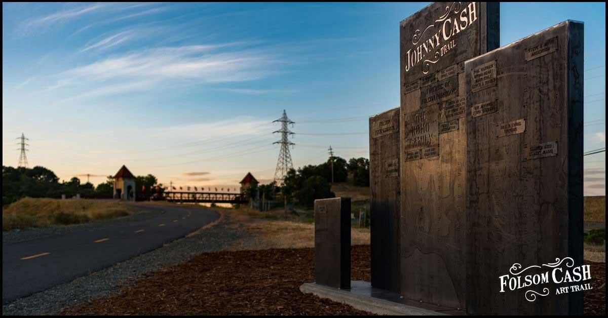 Folsom Cash Art Trail Donor Wall