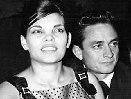 Johnny Cash and First Wife, Vivian Liberto