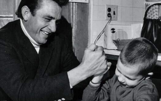 Johnny Cash, Laughing
