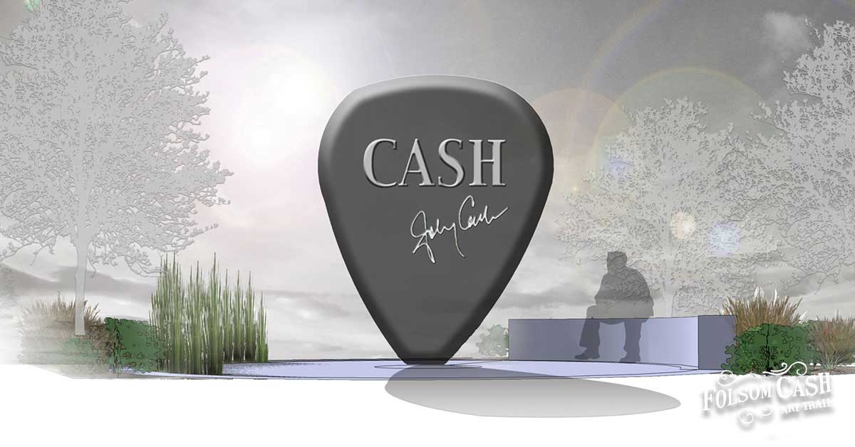 Art Piece on the Johnny Cash Art Trail